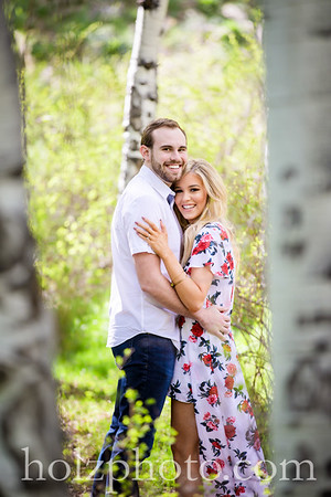 Molly & Connor Color Engagement Photos