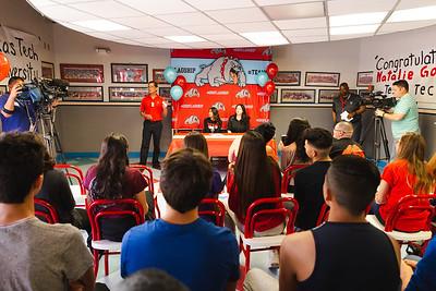 Socorro HS Signing Natalie Gomez