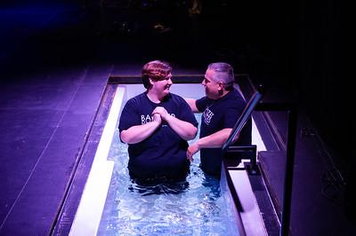 2018-10-21 - 9 a.m. open baptism service