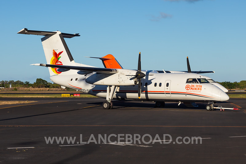 Asia Pacific Airlines Dash-8-100 - P2-NAT - CNS