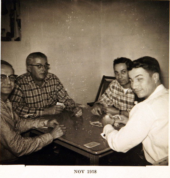 Grandpa, Uncle Norm, Lee & Bud.JPG