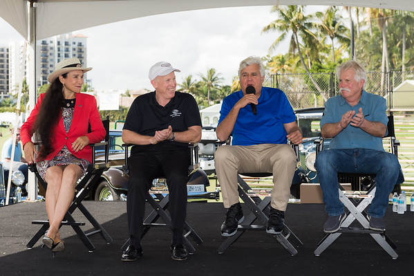 2019 Concours Press Event with Jay Leno - Then Dauers Classic Car Museum