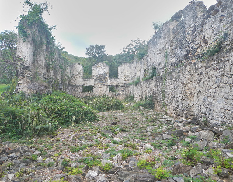 Ruins of a Sugar Mill, St. Croix