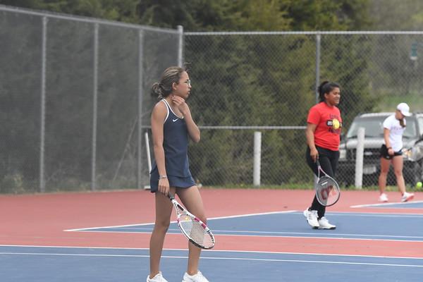 Girls Tennis at Crete Dual