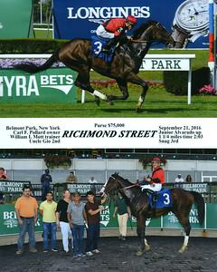 RICHMOND STREET - 9/21/2016