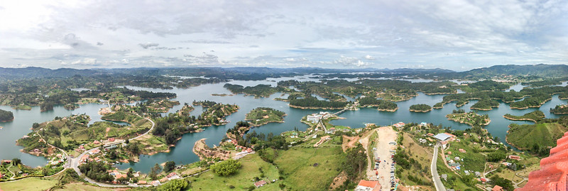 Guatepa Views from Piedra del Peñol