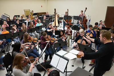 SBYSO Symphony Orchestra Practice 4-10-16