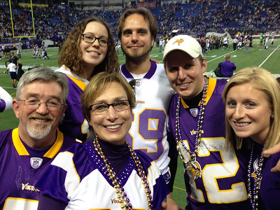 Vikings vs. Detroit Lions, November 11, 2012