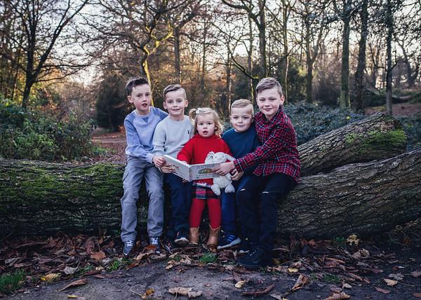 William, Evan, Edward, Henry & Iris