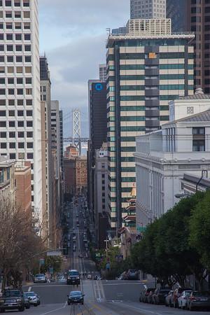 Nob Hill, San Francisco, February 2017