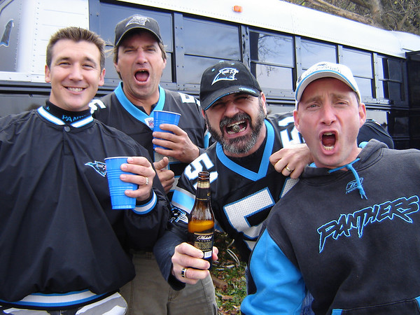 Panthers vs. Falcons December 4th 2005