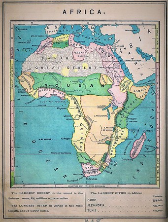 Old Africa Maps