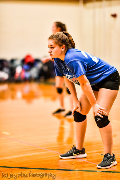 October 23, 2018 - WMS - 8th Grade Volleyball Games vs Lakeview