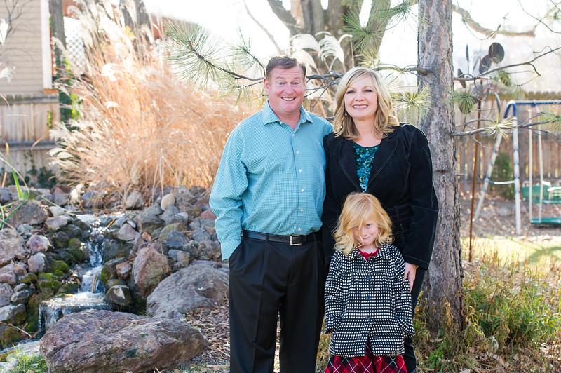 Kelly Family Winter Portraits 2017