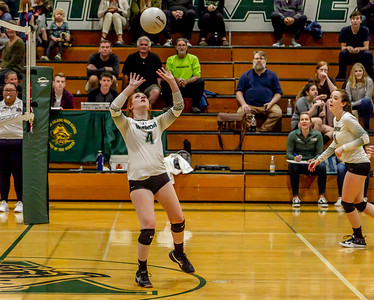Set one: Vashon Island High School Varsity Volleyball v Chimacum 09/20/2018