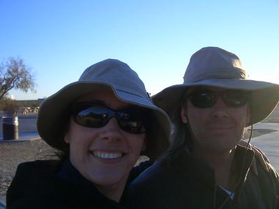 Day 15 -- Monday, December 3 -- LA to Blythe, CA