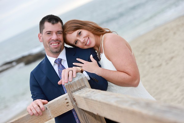 Michael & Melissa Wedding  Beach Photos June 22, 2020