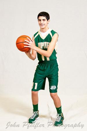 2012 JTAA Boys 7th Grade Green Team