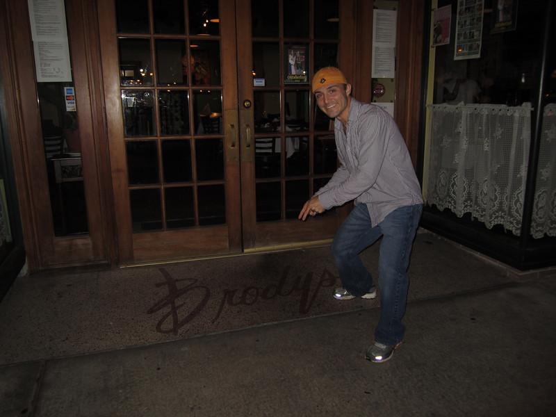 10/1/2011 ECU vs North Carolina  Chris at Brody's