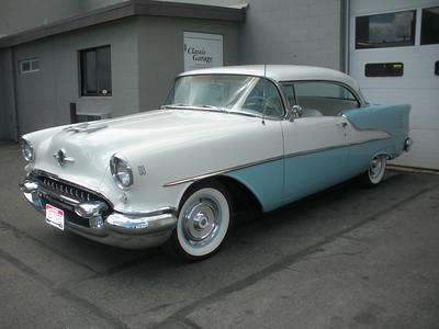 1955 Oldsmobile 88 - 2 Door Hardtop, Restoration Progress ... Classic Garage 208-755-3334