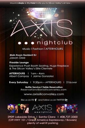 Axis Saturdays @ AXIS Nightclub 12.8.12