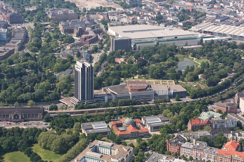 Luftaufnahme Kongresszentrum Hamburg