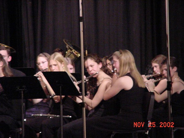 2002-11-25: Holiday Concert