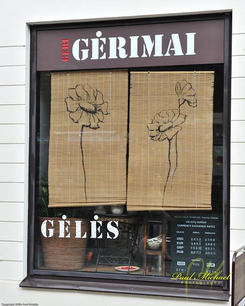 Geri Gerimai - Good Drinks Geles - Flowers  Good Drinks and Flowers?