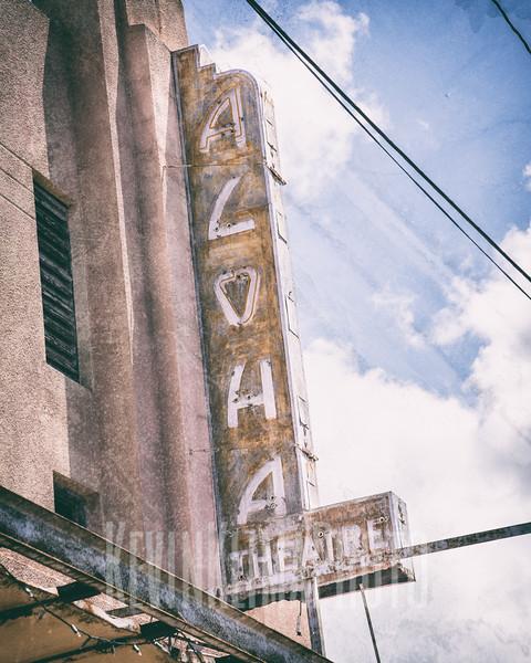 Old Aloha Theatre in Hanapepe