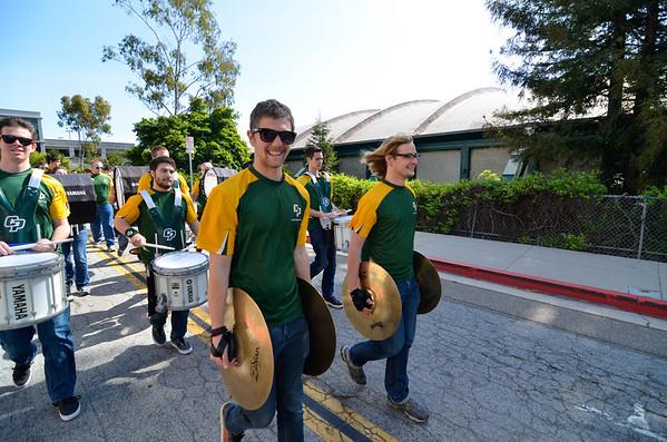 Pep Band at Cheer Scriamge vs Glendale