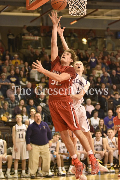 03-15-18 Sports D-II BBK regional semi Wauseon vs. Lexington @ BG