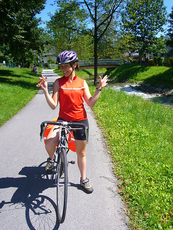 Trans Alps - Cycling from Munich to Venice August 2008