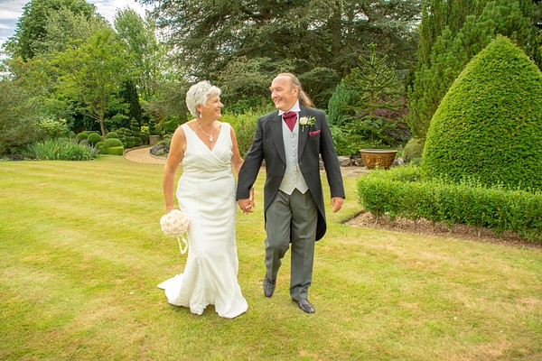 Carol and Michael Wedding at Fischers Baslow Hall