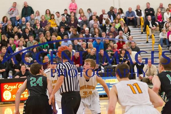 UA Varsity Basketball 2/15/13
