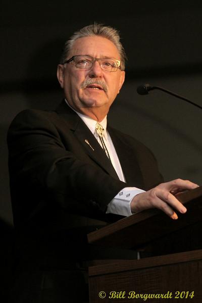 Honourable Gene Zwozdesky - R Harlan Smith induction - 2014 ACMAs