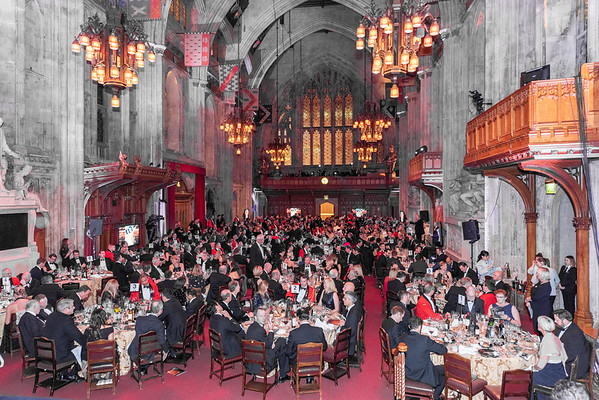 Royal Marines  Charity Dinner the Guildhall London 20th December 2018