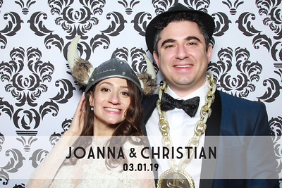 Joanna & Christian's Wedding - 3/1/19