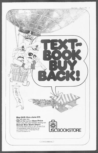 Daily Trojan, Vol. 76, No. 62, May 17, 1979