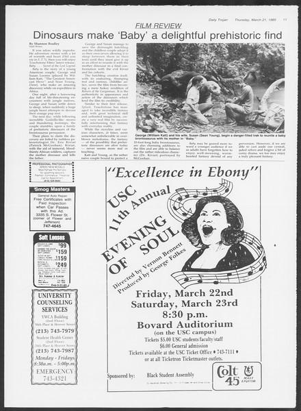 Daily Trojan, Vol. 98, No. 48, March 21, 1985