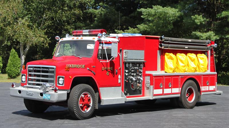 Retired Engine 4.  1983 International / Ranger   750. /750