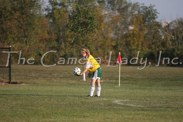CHCA 2008 MS Girls Soccer vs Walnut Hills 09.23