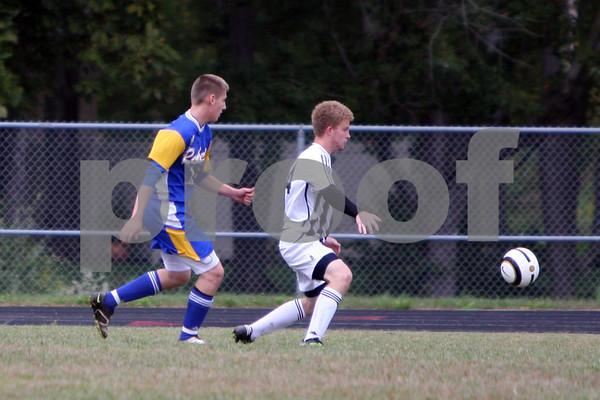 Varsity Boys Soccer vs CNE 9/28/11