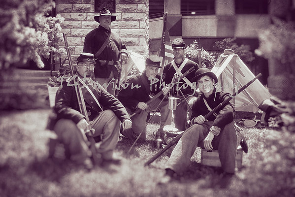 GAR Hall, Aurora, CLA & 45th Infantry
