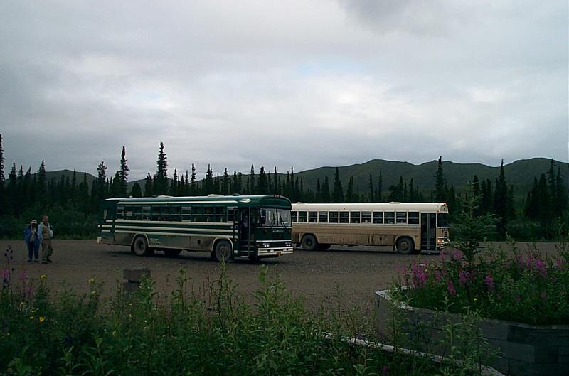 Tour busses