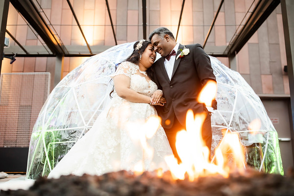 Misty + Partha: Wedding