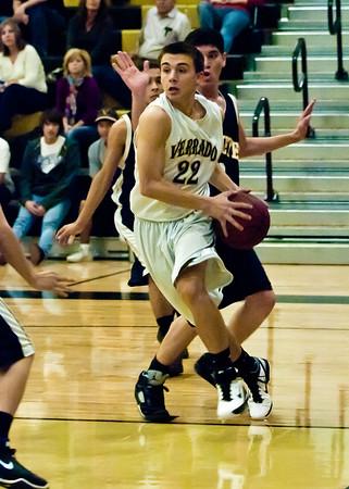 Basketball Verrado Boys JV vs Buckeye 1/21/2011
