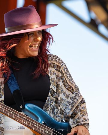 Danielle Nicole Band at Bayfront Blues Festival - 210815