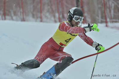 U18 SLALOM Morin Heights Men 24 FEVRIER 2013