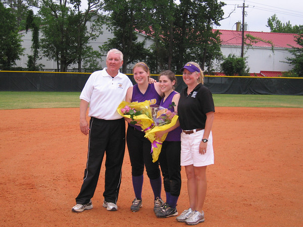 Final Home Softball Game for Laura