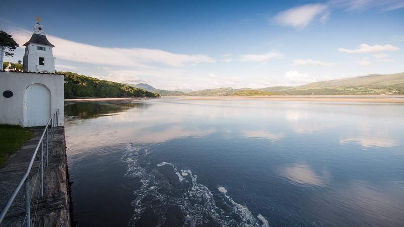 Estuary of the Afon Dwyryd at Portmeirion